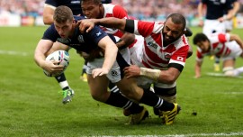 Rugby World Cup – 1st 100 tries in 4 minutes