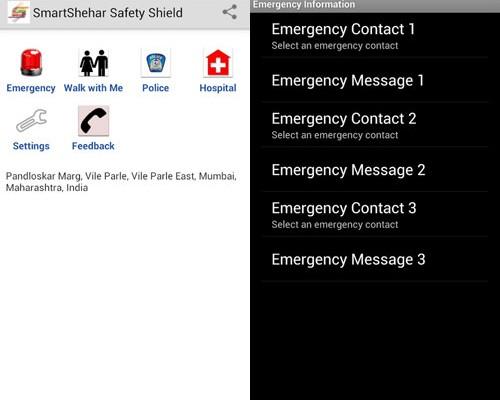 Women's Safety Shield App