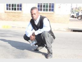 Thabo Maseko prepares to launch his latest mix tape.