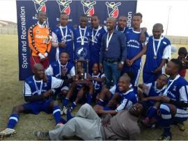 Zaragoza FC took the number one spot in the u/21 division in the Bongani Zungu Tournament.