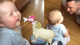 Baby Laughs Like A Sheep