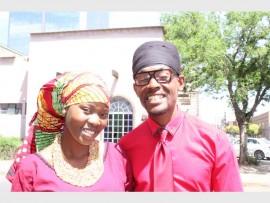 Nomzingisi Mkhonto with Jah Ahmunah.
