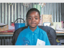Five-year-old Gugu Mthombeni couldn't wait to start learning on her first day at school. The Michael Zulu Ordinary Full Service School learner is doing Grade R.