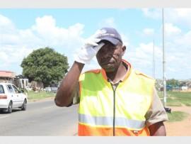 KwaThema resident Thabo Moshweu.