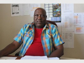 M.O.M Sebone Secondary School principal Sylvester Ndebele.