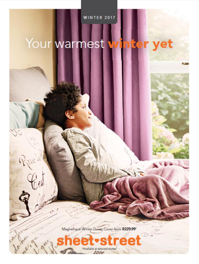 Sheet Street Winter Catalogue