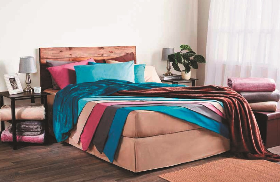 Keep One Blanket On The Couch And One On Your Bed For Those Extra Chilly  Nights. Tip: Go For The Bolder Colours Like Red For Your Couch To Brighten  Up The ...
