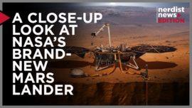 A Close Up Look at NASA's Brand New Mars Lander!