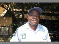 Warrant Officer Moses Maphakela.
