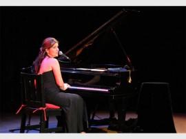 Songstress... Cat Simoni will perform on 10 August.