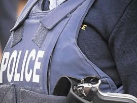 Police vest image.