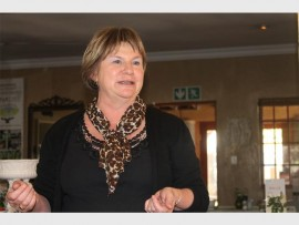 Helping hand... Martina Laurie, chief executive officer at Hands on Retreat.