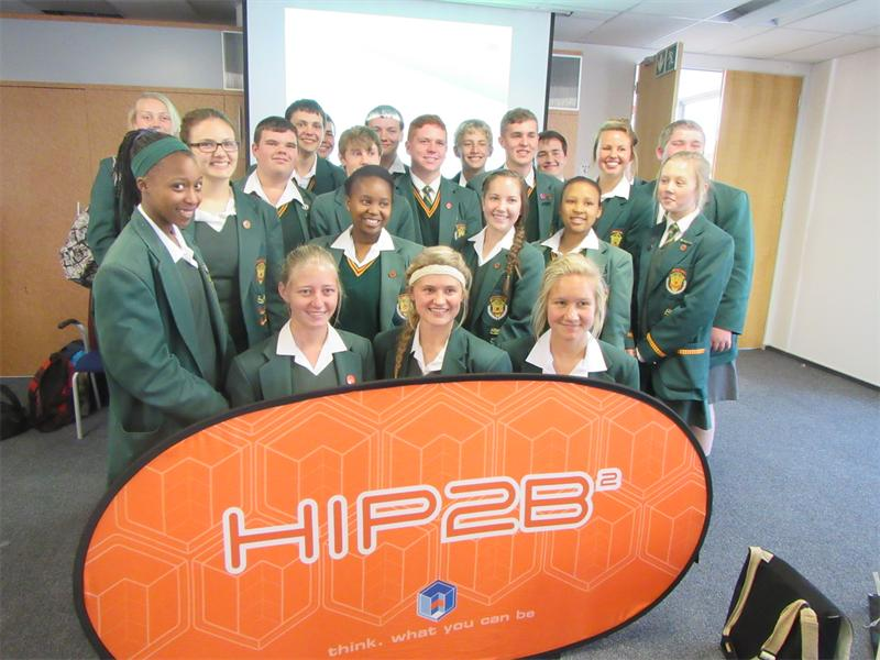 Tech-savvy... Grade 10 pupils from Florida High School at the Hip2B² 3M Innovation Challenge regional workshop held at the 3M head office in Woodmead.