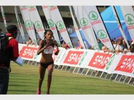 Third place winner of Joburg's most beautiful race, Diana-Lebo Phalula.