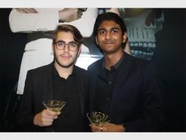 Bromance… Gilad Shorer and Aditya Sinha.