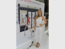 Step into my shoes… Showjumper, Cara Frew from Sandton attends the Elizabeth Arden Beauty School Red Door Experience launch at Sandton City.
