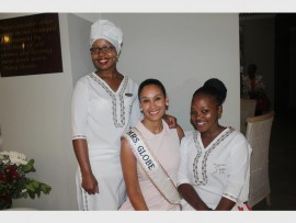 HAPPINESS: Josephine Molemane, Riana Mooi and Esther Mamabolo at the launch of the spa.