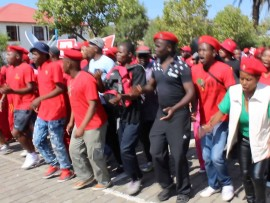 WATCH: Malema leads EFF march to the Constitutional Court