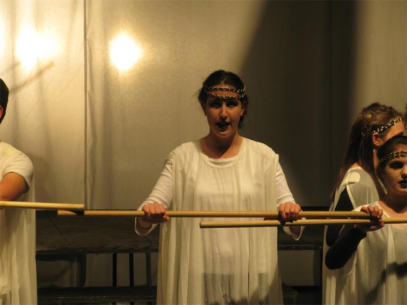 Drama... Thea Shapiro has fond memories of learning William Shakespeare's work in her school syllabus.