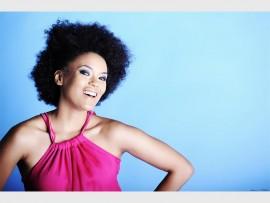 Caring celeb... TV personality Phumeza Mdabe joins the Childhood Cancer Foundation SA.