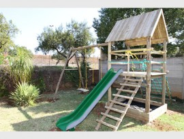 Healing... The Reach for a Dream Foundation made four-year-old Anika's wish come true and built her a jungle gym.