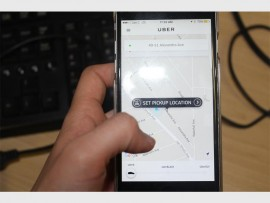 Uber is widely used and a driver can be ordered using an application on an individual's cellphone.