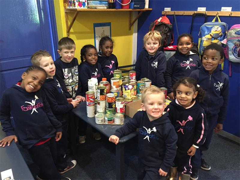 Charitable preschool gives back
