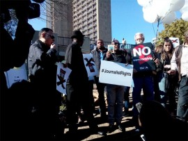 Civil Society organisations will today picket outside Luthuli House to demand an end to political interference at SABC.