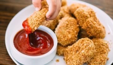 Delicious Chickpea Nuggets