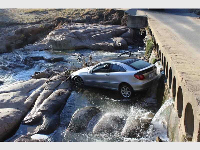 Bridge must fall