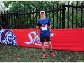 Luke Schlebush at the Spur Summer Trail Series on 27 November.