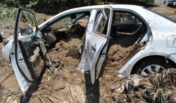 Flash flood wreaks havoc