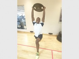 Personal trainer, Thabiso Mpeke, ran the Soweto Marathon to raise money for the orphans