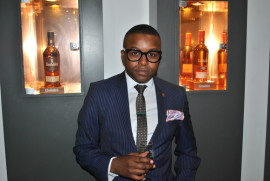 Luthando Jezz Tibini, Glenfiddich's national brand ambassador.