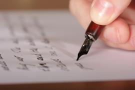 Resident writes letter.