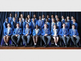 Front row: Candace Eslick, Jacques Rossouw, Ali Nesser (Executive), Musa Ndaba (President), Gareth Edwards (President), Caitlin Bell (Executive), Ian Edwards and Dylan Visser. Middle row: Matimba Baloyi, Brogan Koch, Cameron Smith, Kundai Jura, Akhil Bhoopal, Thato Boloka, Fadzai Manyeza, Kayla Heckrath, Thapelo Ndima, Tebogo Mpofu and Martin Dijkhuis. Back row: Innocent Ndlovu, Ashley Ndlovu, Donnay McCarter, Farah Gool, Zihle Makhetha, Landi Dlamini, Tamara Chinganya, Thembalethu Khuzwayo, J