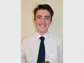 Samuel Hindson, a Dux award recipient from Hyde Park High School.