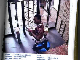 Joburg Central police are looking for this unidentified man. Photo: Supplied