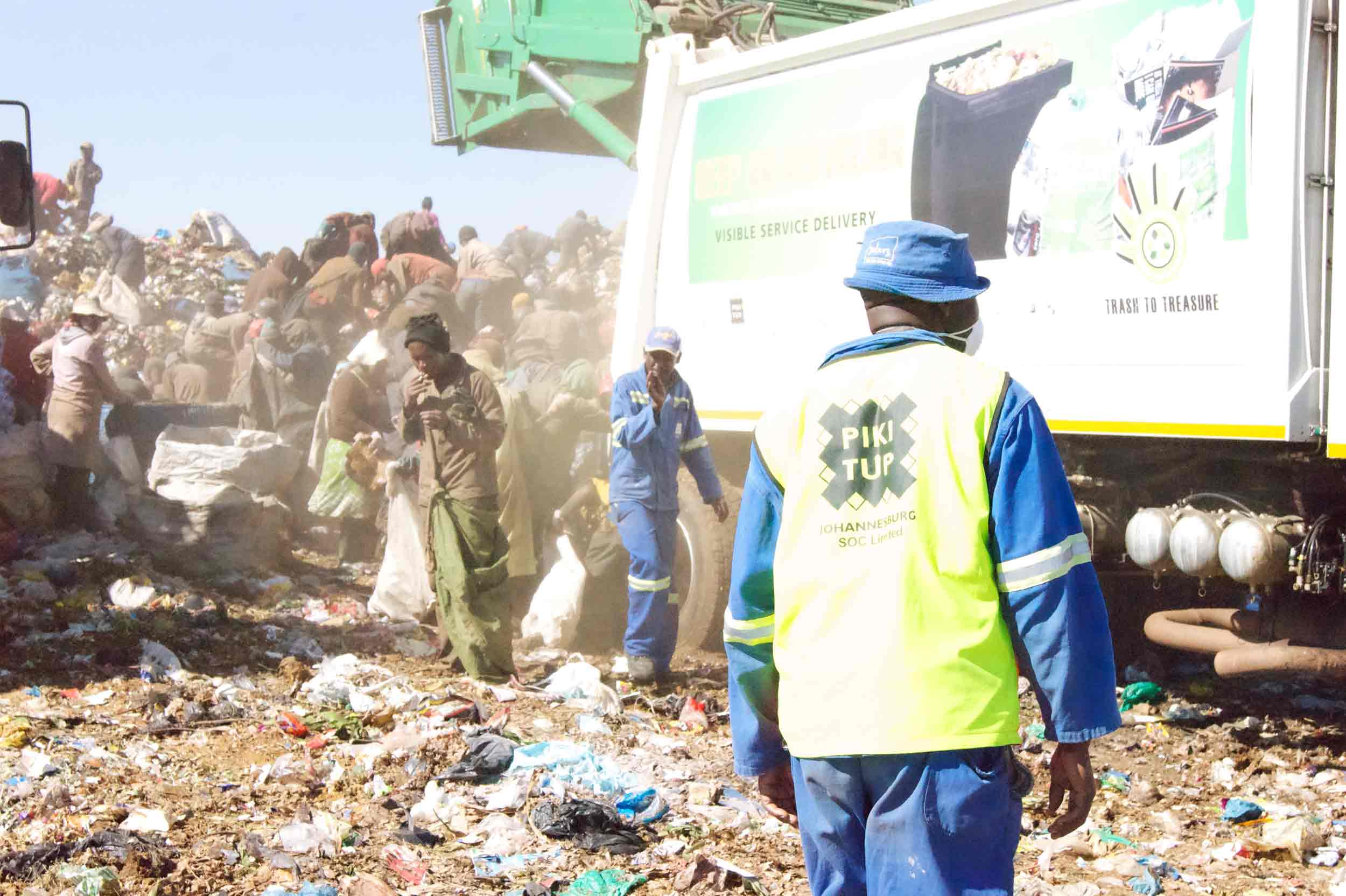 mandatory recycling Johannesburg is about to become greener than it has ever been as recycling rubbish will be made mandatory from 1 july.