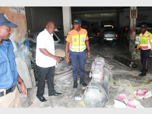 Four vehicles impounded from Jeppe's scrap yards | Joburg East Express