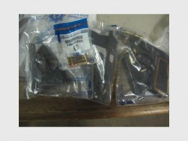 The firearms that were found on the suspects.
