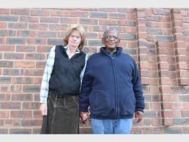 Marge Freislich-Ncala and Neville Ncala.