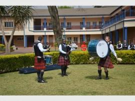 Benoni Mactalla performing at the South African Solo Drumming Championships
