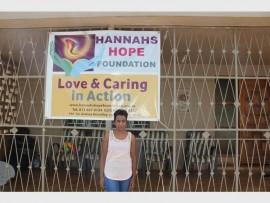 Founder of Hannah's Hope foundation Lorraine Benjamen.