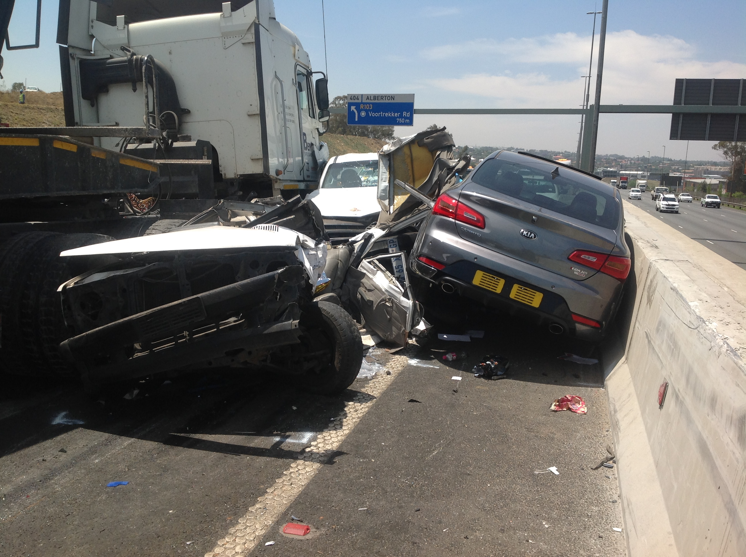 N12 Accident The Biggest Tragedy In Johannesburg