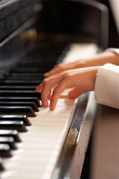 Child on piano