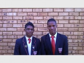 CONGRATULATIONS: Bracken High is extremely proud of Trevino Dwarika and Keagan Pietersen who have been selected to represent Easterns hockey.