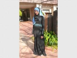 RHODES UNIVERSITY STUDENT: Rughsaar Bibi Ismail, enjoying her few weeks at the Caxton South office.