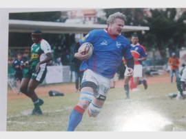 WORLD CUP HERE I COME: Renaldo Bothma will be in action in the Namibian jersey for the 2015 Rugby World Cup. *Photograph supplied.