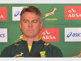 TOUGH TASK: Springbok Head coach, Heyneke Meyer, will select his team this week to play against the World XV.